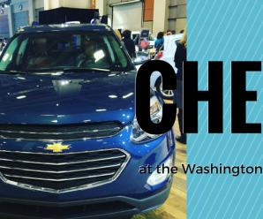 Chevy at the Washington Auto Show #ChevyWAS