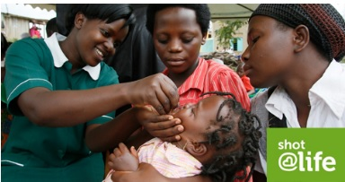 Learn what you can do to help end polio with Shot@Life.