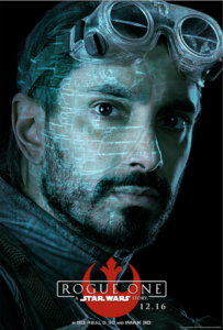 Riz Ahmed as Bodhi Rook in Rogue One a Star Wars story