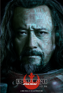 Wen Jiang as Baze Malbus in Rogue One a Star Wars story